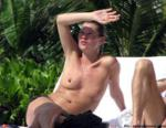 Kate moss staged a Topless photo shoot on vacation